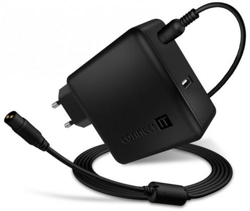 Neoriginální nabíječky NTB adaptér 65W + extra USB port OBAL POŠKOZEN