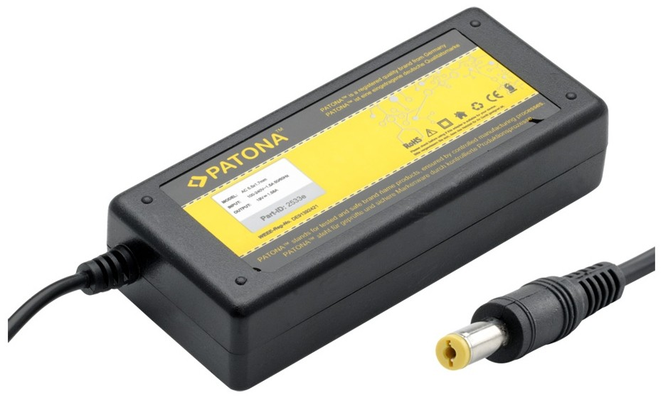 Neoriginální nabíječky PATONA adaptér pro notebook PT2533 30W