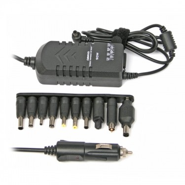 Neoriginální nabíječky Univerzální adaptér OMEGA 90W slim pro notebook + CL a USB