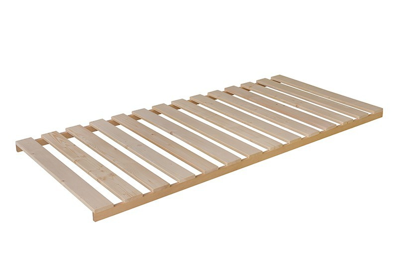 Nepolohovací Wood - Rošt 200x80x6, nepolohovací (14 pevných latí v rámu)