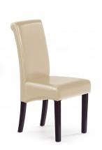 Nero - Jídelní židle, nosnost 120 kg (wenge/ béžová)