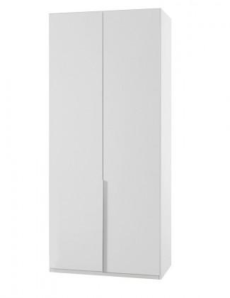 NewYork23 - Skříň, 90/208/58 (alpská bílá)