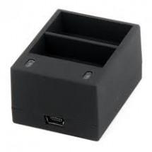 NICEBOY Duální externí nabíječka pro baterie GoPro 3/3+