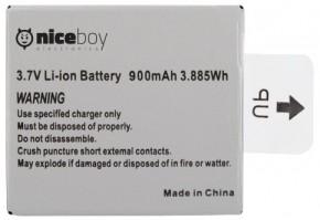 Niceboy VEGA, VEGA+ náhradní baterie