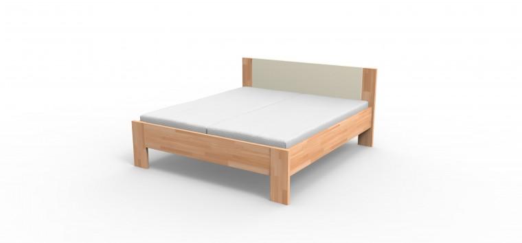 Niki - rám postele (béžové čelo)