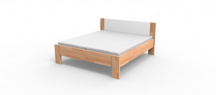Niki - rám postele (bílé čelo)