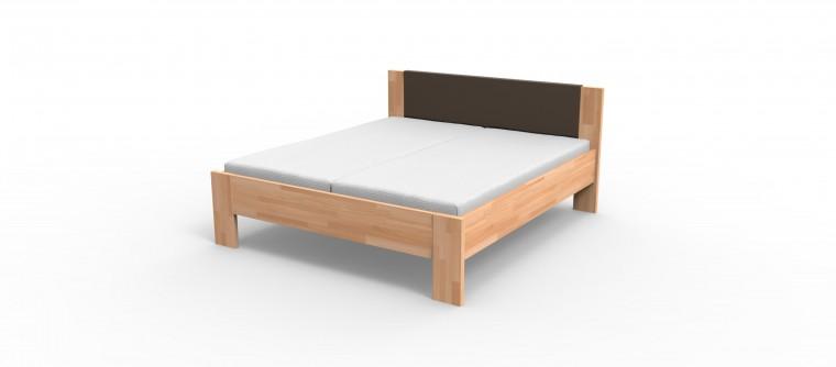 Niki - rám postele (hnědé čelo)
