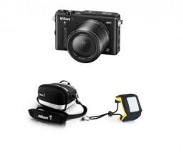 Nikon 1 AW1 Adventure kit black
