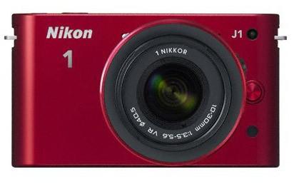 Nikon 1 J1 + 10-30 VR + 10MM/2.8 Red