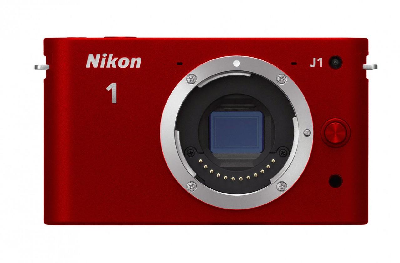 Nikon 1 J1 + 10-30 VR + 30-110 VR Red