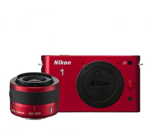 Nikon 1 J1 + 10-30 VR Red