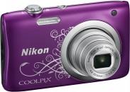 NIKON COOLPIX A100, fialový lineart