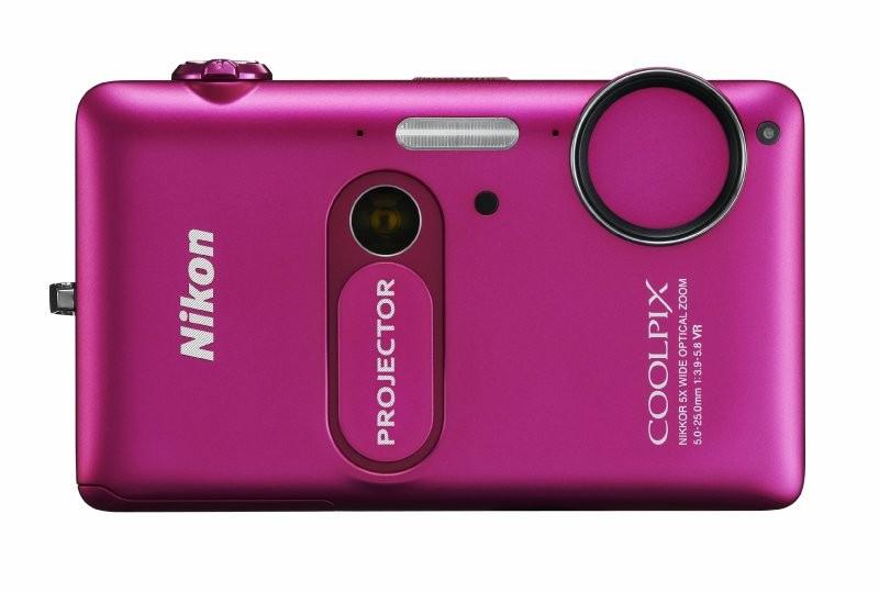 Nikon Coolpix S1200pj Pink