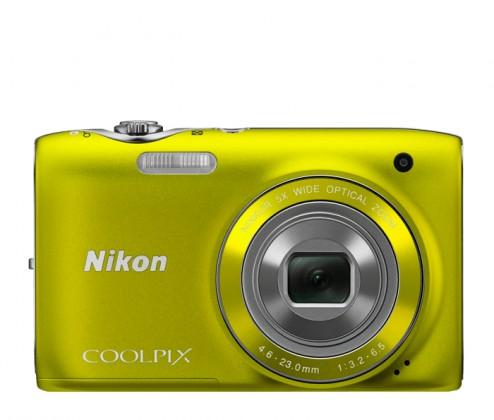 Nikon Coolpix S3100 Yellow