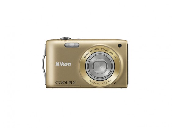 Nikon Coolpix S3300 Gold