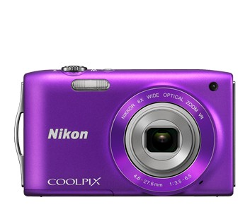 Nikon Coolpix S3300 Purple