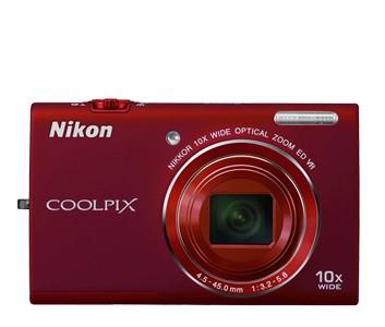 Nikon Coolpix S6200 Red