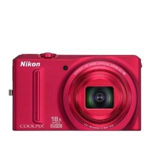 Nikon Coolpix S9100 Red