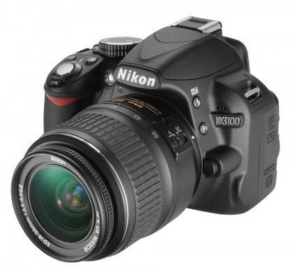 Nikon D3100 + objektiv 18-55 NON VR