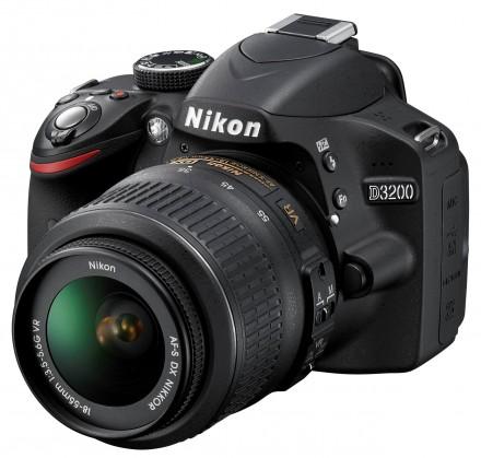 Nikon D3200 + 18-55 AF-S DX VR II + 55-300 AF-S VR