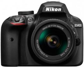 Nikon D3400 + AF-P 18-55 non VR + Chytré hodinky Xiaomi v hodnotě 2000,-Kč