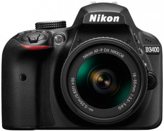 Nikon D3400 + AF-P 18-55 non VR ROZBALENO