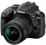 Nikon D3400 AF-P 18-55 VR + 70-300 VR + 16GB + bag