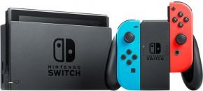 Nintendo Switch, červená/modrá NSH005 + dárek hra Legend of Zelda
