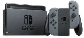 Nintendo Switch, šedá NSH001 + dárek hra Street Fighter