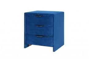 Noční stolek Franz (tmavě modrá)