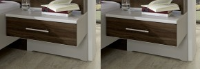 Noční stolek Imola - 1x výsuv, visutý, 2 ks - II. jakost