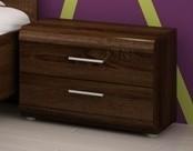 Noční stolek Link - Noční stolek (dub chocolate)