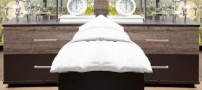 Noční stolek Madeira - 2ks (dub/láva)