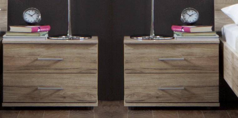 Noční stolek Madrid - Noční stolek 2x (dub san remo)
