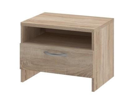 Noční stolek Noční stolek UNO - typ NS (dub bardolino)