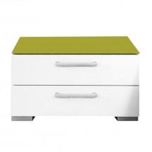 Noční stolek Onella - 2x zásuvka, demontováno