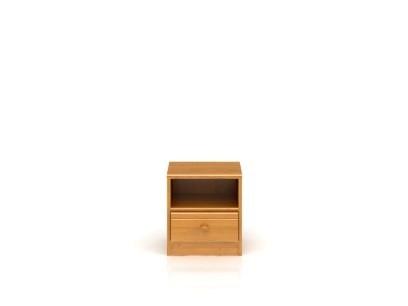 Noční stolek POP K1S/4/4 (Olše medová)