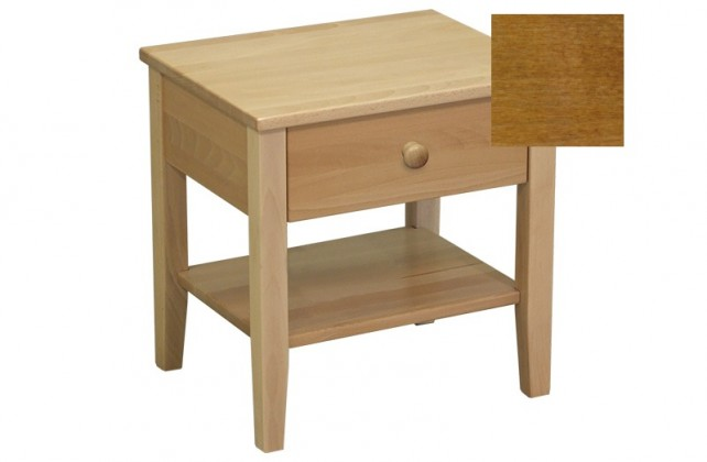 Noční stolek Talia - Noční stolek (ořech světlý)