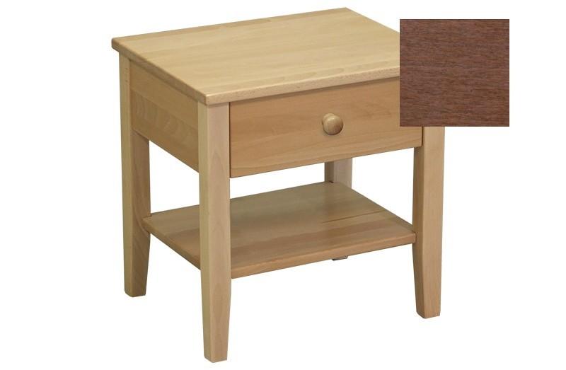 Noční stolek Talia - Noční stolek (švestka)