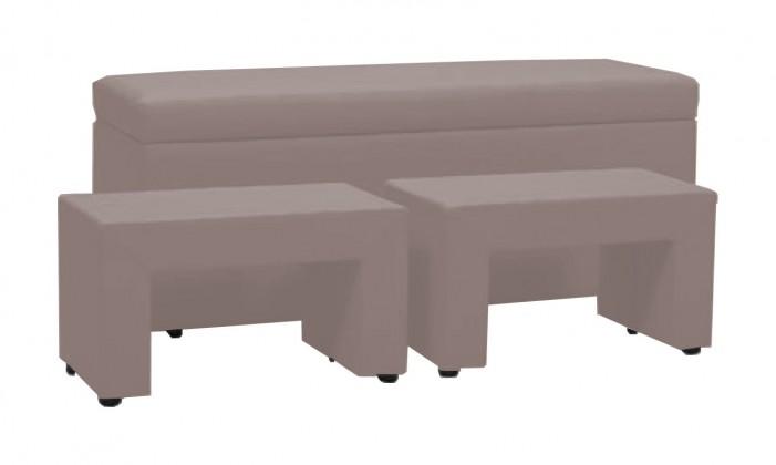 Noční stolek TRIPLE + NIGHT STANDS (light grey , sk. VI)