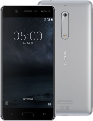 NOKIA 5 DS Silver