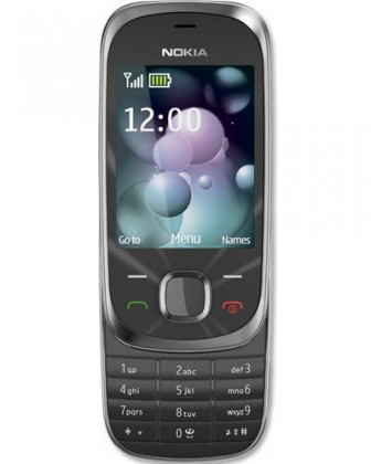 Nokia 7230 slide Graphite (2GB)