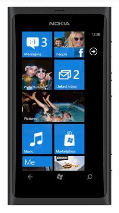 Nokia Lumia 800 Matt Black