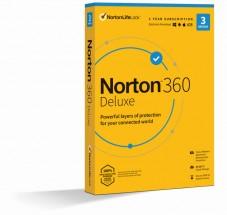 Norton 360 Deluxe 25GB, 1uživatel, 3 zařízení (21416704)