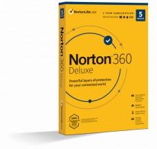Norton 360 Deluxe 50GB, 1 uživatel, 5 zařízení (21415000)