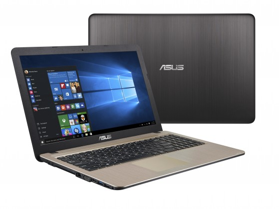 "Notebook ASUS VivoBook 15,6"" Pentium 4GB, HDD 1TB, X540NA-GO101T"