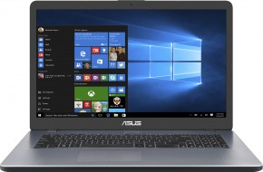 "Notebook ASUS VivoBook 17,3"" i3 4GB, SSD+HDD, X705UA-BX417T"