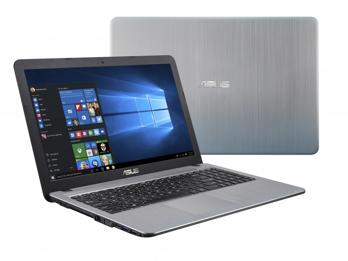 "Notebook Asus X540BA-DM653T 15,6"" A6-9225 8GB, 1T+128GB, Silver"