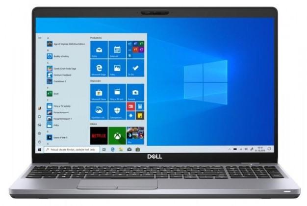 """Notebook DELL Latitude 5510 15,6"""" i5 8GB, SSD 256GB, V8G3T"""
