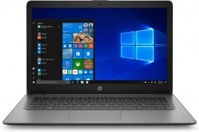 "Notebook HP 14-ds0005nc 14"" AMD A4 4GB, 64GB, Black + ZDARMA USB Flashdisk Kingston 16GB"